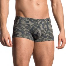 BOXER CAMOUFLAGE VERT MINIPANTS RED1706 - OLAF BENZ