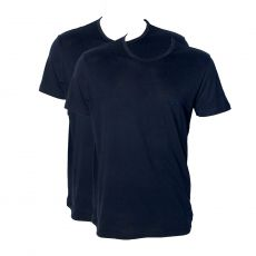PACK DE 2 T-SHIRT CLASSIC NAVY  COL ROND - ARMANI