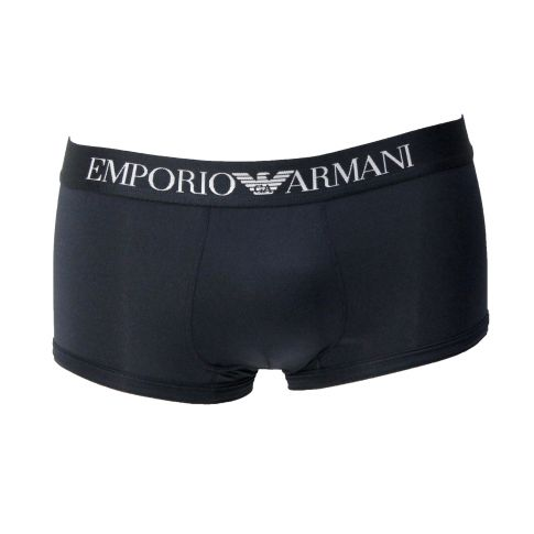 BOXER SHORTY MICROFIBRE NAVY BASIC - ARMANI
