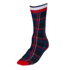 CHAUSSETTES NOIR PRINTED TARTAN  - TOMMY