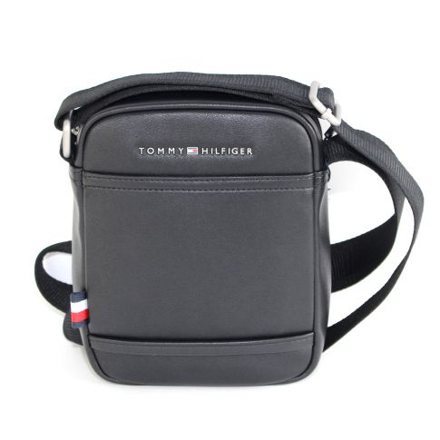 BESACE TH CITY MINI REPORTER NOIR - TOMMY HILFIGER