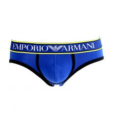 SLIP BLEU ROYAL/NOIR MAGNUM STYLE PUSH UP - ARMANI
