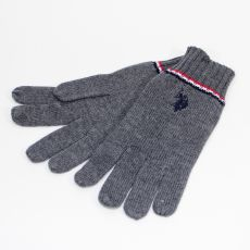 GANTS GRIS EN LAINE  - US POLO ASSN