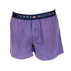 CALECON PIED DE POULE BLEU/ROUGE   - TOMMY HILFIGER