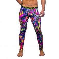 LEGGINGS 90344 - MASSIVE FLASH CITY GRAFFITI - CHRISTIAN ANDREW