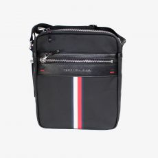 BESACE GRAND FORMAT ELEVATED REPORTER NOIR  - TOMMY HILFIGER
