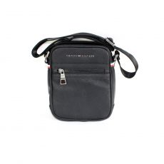 BESACE ESSENTIAL MINI REPORTER  NOIR  - TOMMY HILFIGER