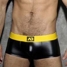 BOXER FETISH RUB CEINTURE JAUNE ADF49 - ADDICTED