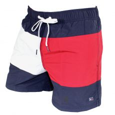 SHORT DE BAIN MEDIUM DRAWSTRING NAVY - TOMMY HILFIGER