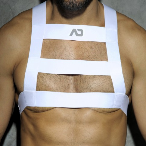 HARNESS PARTY BLANC ADF26 - ADDICTED
