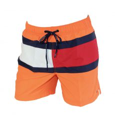 SHORT DE BAIN MEDIUM DRAWSTRING ORANGE 00497 - TOMMY HILFIGER