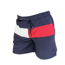SHORT DE BAIN MEDIUM DRAWSTRING NAVY 00497 - TOMMY HILFIGER
