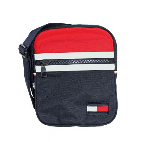 BESACE PLATE CROSSOVER CORPORATE NAVY  - TOMMY HILFIGER