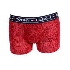 BOXER TRUNK AUTHENTIC ROUGE 00504   - TOMMY HILFIGER