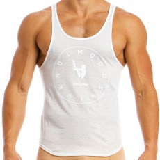 TANK TOP ACCESSORIES BLANC LS1841  - MODUS VIVENDI