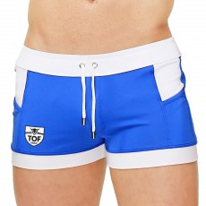 SHORT DE BAIN MIAMI BLEU ROYAL SW0002PA-BR - TOF PARIS