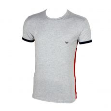 T-SHIRT ATHLETICS GRIS SLIM FIT COL ROND - EMPORIO ARMANI