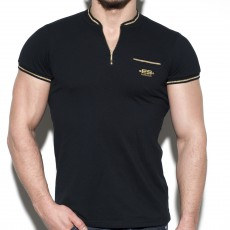 LUREX MAO POLO NOIR POLO25 - ES COLLECTION