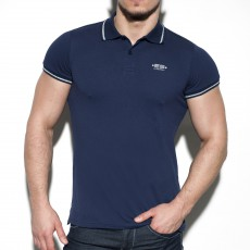 POLO LUREX NAVY POLO26 - ES COLLECTION