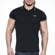 LUREX POLO NOIR POLO26 - ES COLLECTION