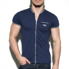 POLO ZIPPER COL MAO NAVY POLO27 - ES COLLECTION