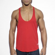 DEBARDEUR FITNESS PLAIN ROUGE TS160 - ES COLLECTION