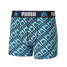 BOXER OLYMPIQUE DE MARSEILLE ALL OVER PRINT MARINE ET BLEU  - PUMA