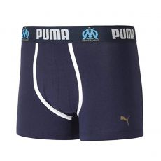BOXER OLYMPIQUE DE MARSEILLE BINDED POUCH MARINE  - PUMA