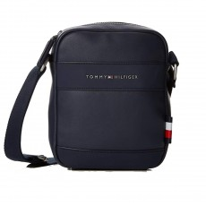 BESACE TH CITY MINI REPORTER MARINE M03582 - TOMMY HILFIGER