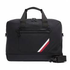 SAC EASY NYLON COMPUTER NOIR M03600  - TOMMY HILFIGER