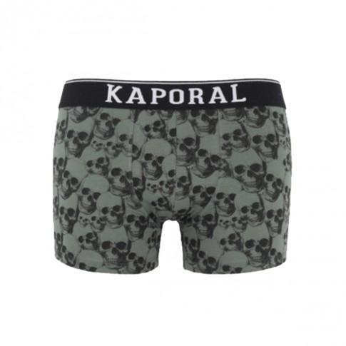 BOXER QLORT TÊTES DE MORT KAKI  - KAPORAL