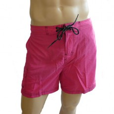 CK Swimwear - SHORT DE BAIN MEDIUM ROSE 58160W2_078