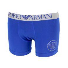 BOXER LONG ICONIC TERRY BLEU 8A595 - EMPORIO ARMANI