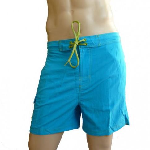 CK Swimwear - SHORT DE BAIN MEDIUM TURQUOISE 58160W2_076