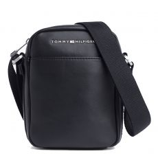 BESACE TH CITY MINI REPORTER  NOIR M01941 - TOMMY HILFIGER