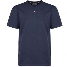 TEE SHIRT INTERIEUR MARINE MANCHES COURTES COL ROND 00952- TOMMY HILFIGER