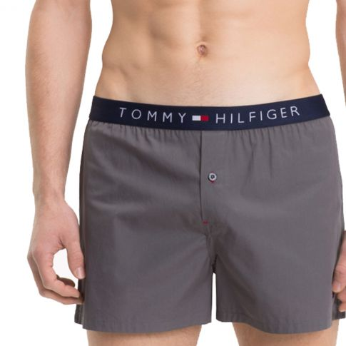 CALECON WOVEN ICON GRIS  - TOMMY HILFIGER