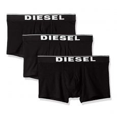 PACK DE 3 BOXERS COURTS DAMIEN THREE PACK COTON STRETCH NOIR- DIESEL