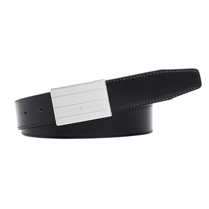 Coffret ceinture ajustable reversible double boucle noir