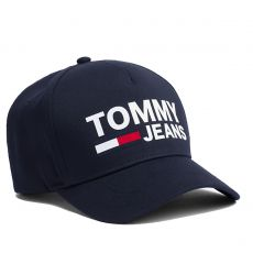 CASQUETTE CLASSIC BASEBALL NOIR  - TOMMY JEANS