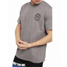 T-SHIRT JUST-B COL ROND GRIS - DIESEL