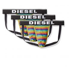 PACK DE 3 JOCKS STRAP FRESH & BRIGHT MULTICOLORES - DIESEL