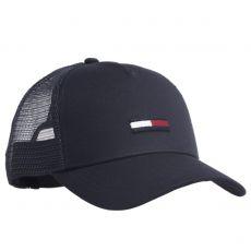 CASQUETTE TJU TRUCKER FLAG CAP NAVY  - TOMMY HILFIGER