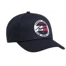 CASQUETTE TJM HERITAGE EMBROIDERY CAP MARINE  - TOMMY JEANS