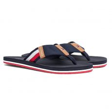 TONGS CORPORATE STRIPE BEACH MARINE - TOMMY HILFIGER