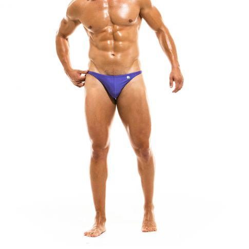 MINI SLIP DE BAIN LOW CUT BODYBUILDING VIOLET - MODUS VIVENDI