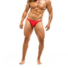 MINI SLIP DE BAIN LOW CUT BODYBUILDING ROUGE - MODUS VIVENDI