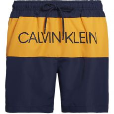 SHORT DE BAIN MEDIUM DRAWSTRING BLOCK MARINE M00293  - CALVIN KLEIN