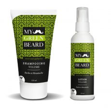 PACK TOUT POUR LE VOLUME DE LA BARBE - MY GREEN BEARD