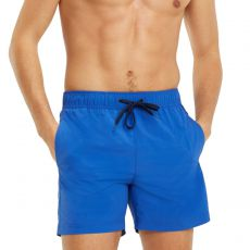 SHORT DE BAIN MEDIUM DRAWSTRING BLEU M01079 - TOMMY HILFIGER